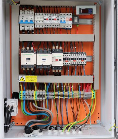 Elektrický rozvádzač pre mraziareň